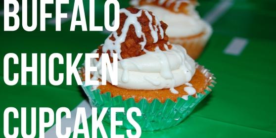 Buffalo Chicken Cupcake. Recipe at http://bit.ly/QAQbrN