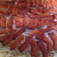 RECIPE: http://mymostrequestedrecipes.blogspot.com/2012/03/bacon-candy.html