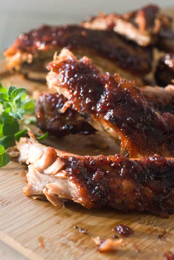 Soak it up with this Cherry Cola Ribs Recipe